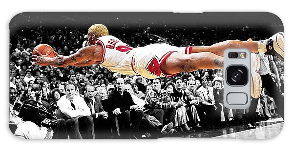 The Worm Dennis Rodman Galaxy Case by Brian Reaves