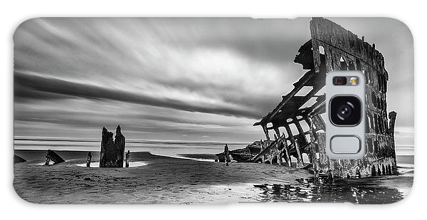 Evening Galaxy Case - The Wreck Of The Peter Iredale by Lydia Jacobs