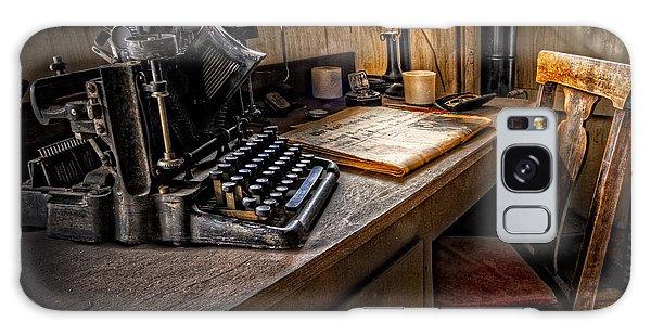 The Writer's Desk Galaxy Case