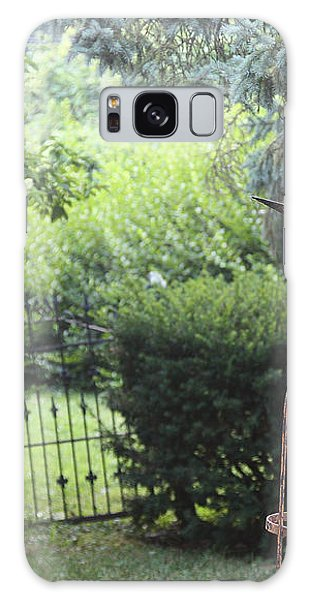The Wrought Iron Gate Galaxy Case by Yvonne Wright