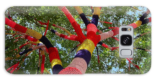 The Yarn Tree Galaxy Case by Dan Redmon