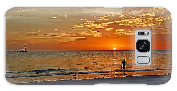 The Young Fisherman Galaxy Case by HH Photography of Florida