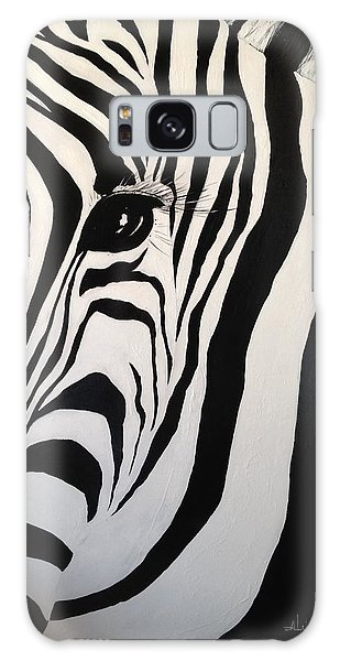 The Zebra With One Eye Galaxy Case