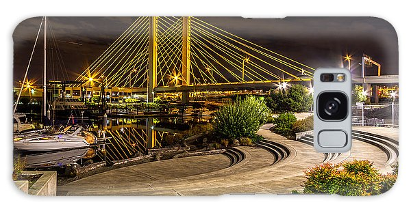 Thea Foss Waterway Hwy 509 Bridge Galaxy Case