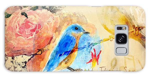 Song Birds Galaxy Case - Their Sounds Fill The Air by Arline Wagner