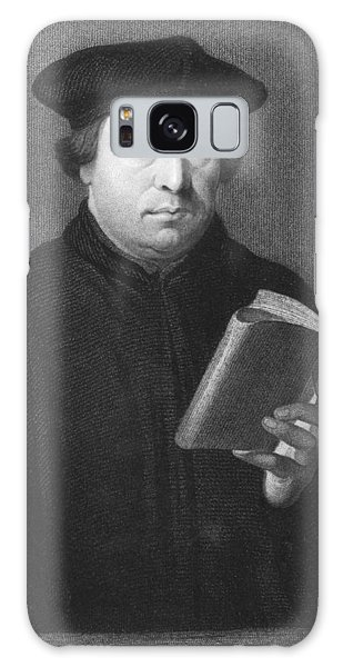 Martin Luther Galaxy Case - Theologian Martin Luther by Underwood Archives