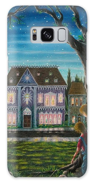 There Is A House In New Orleans Galaxy Case
