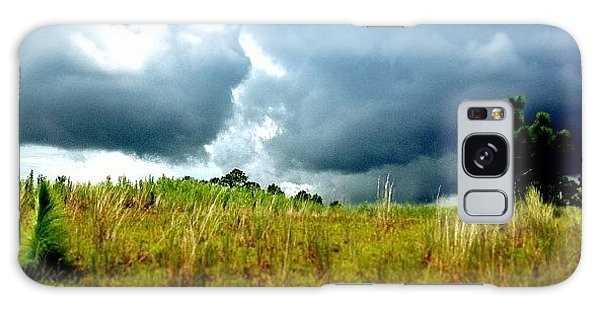 Sports Galaxy Case - There's A Storm Brewing!!! #golf by Scott Pellegrin