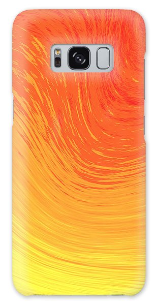 Heat Wave Galaxy Case by Kellice Swaggerty