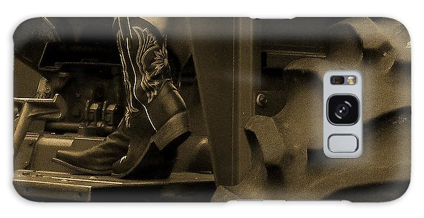 These Boots 1 Sepia Galaxy Case