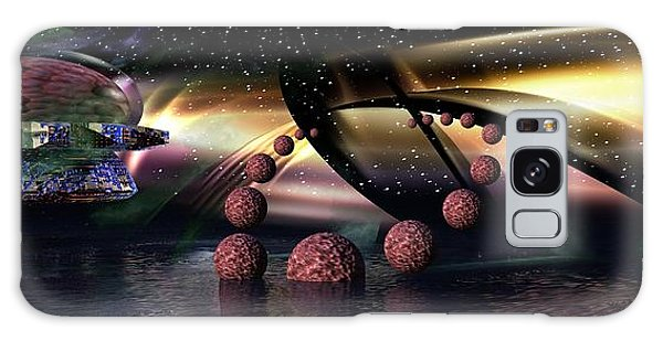 They Came From Outer Space Galaxy Case by Jacqueline Lloyd