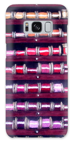 Thimbles In Cabinet Galaxy Case by Joseph Hawkins