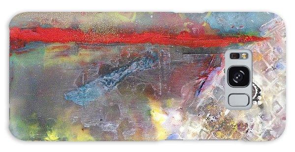 Thin Red Line #1 Galaxy Case