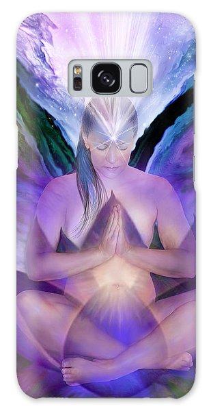 Third Eye Chakra Goddess Galaxy Case