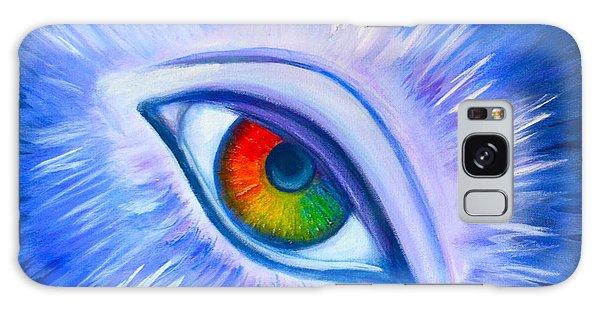 Third Eye Diamond Galaxy Case by Agata Lindquist