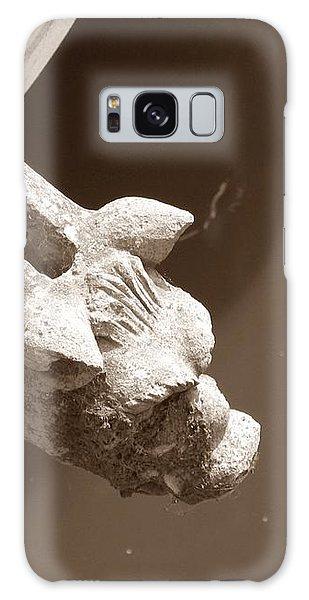 Thirsty Gargoyle - Sepia Galaxy Case