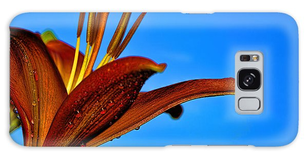 Thirsty Lily In Hdr Art  Galaxy Case