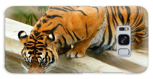 Thirsty Sumatran Tiger Galaxy Case