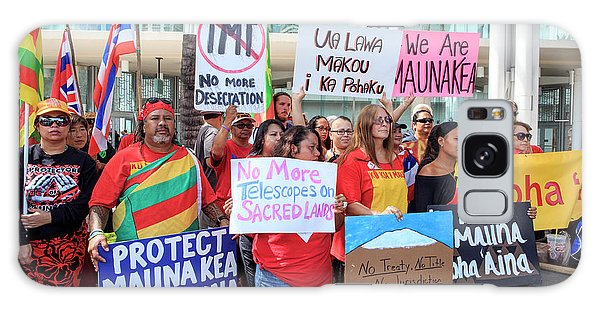 Human Rights Galaxy Case - Thirty Meter Telescope Protest by Babak Tafreshi