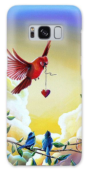 Chickadee Galaxy S8 Case - This Heart Of Mine by Cindy Thornton