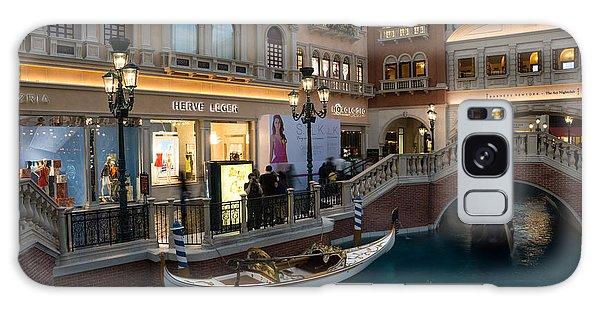 It's Not Venice - The White Wedding Gondola Galaxy Case