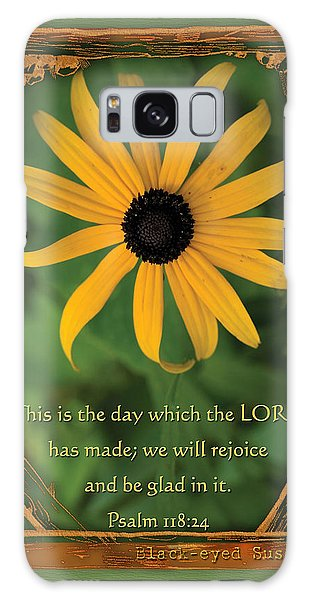 This Is The Day Sunflowers Galaxy Case
