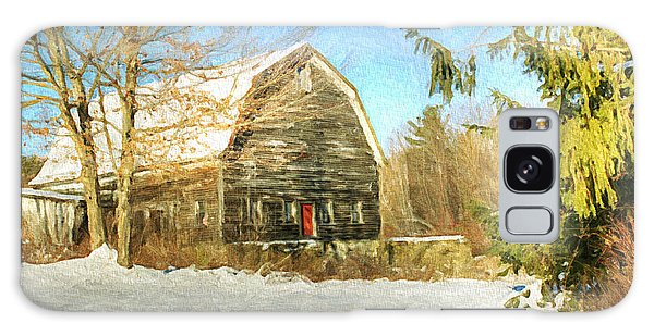 This Old Barn Galaxy Case by Tina  LeCour