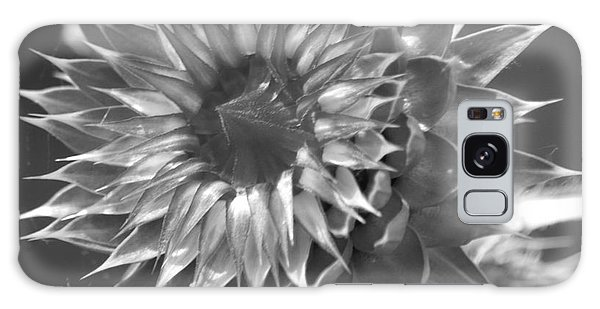 Thistle Bw Galaxy Case by Tannis  Baldwin