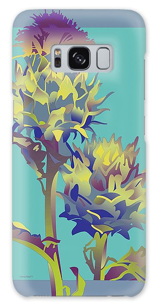 Thistle Galaxy Case