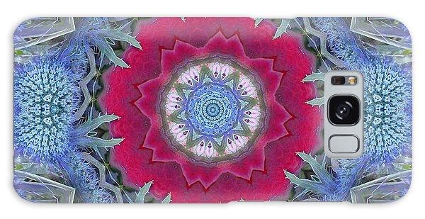 Thistle Portal Mandala Galaxy Case