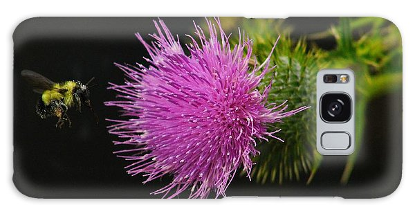 Thistle While You Work Galaxy Case