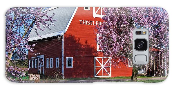 Thistledown Farm  Galaxy Case