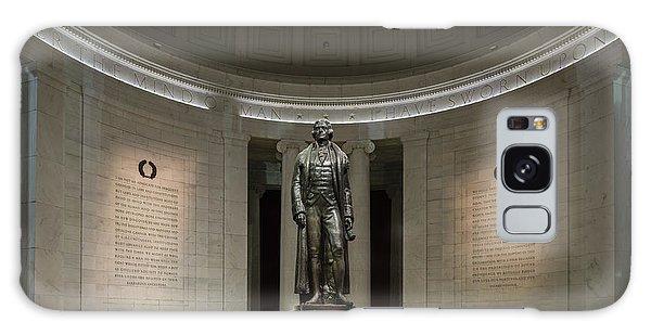 Thomas Jefferson Memorial At Night Galaxy Case by Sebastian Musial