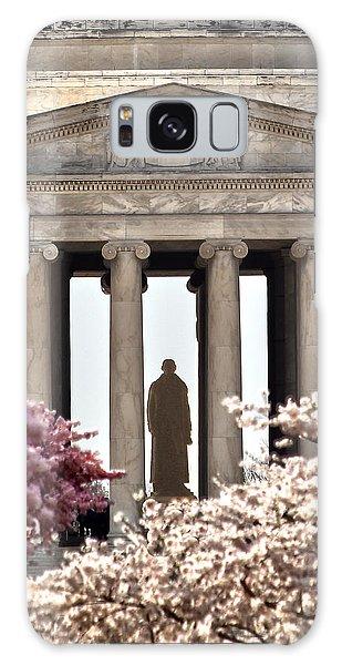 Jefferson Memorial Galaxy S8 Case - Thomas Jefferson by Mitch Cat