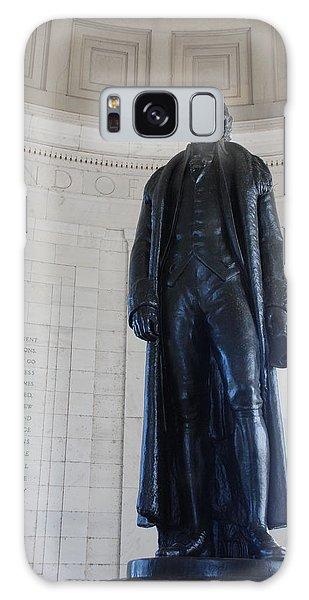 Thomas Jefferson Statue Galaxy Case