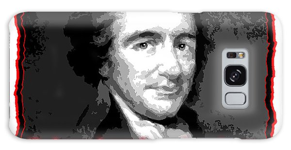 Thomas Paine My Religion Is To Do Good Galaxy Case