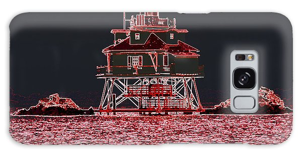 Thomas Point Light House Galaxy Case