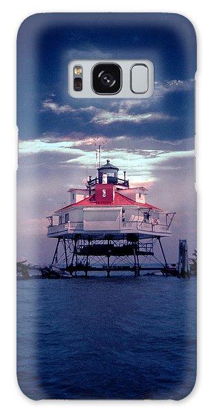 Thomas Pt.  Shoal Lighthouse Galaxy Case