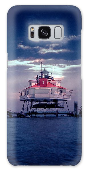Thomas Pt.  Shoal Lighthouse Galaxy Case