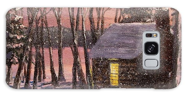 Thoreau's Cabin Galaxy Case