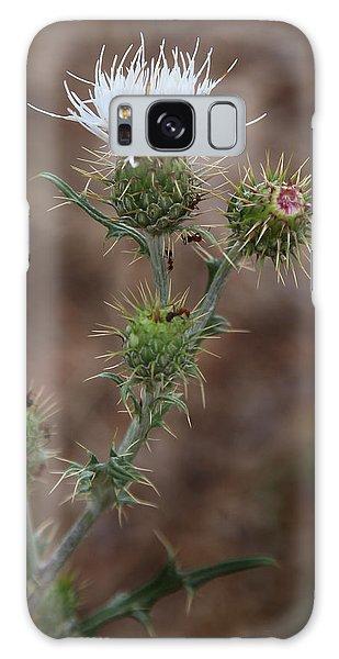 Thorny Wild Flower Galaxy Case