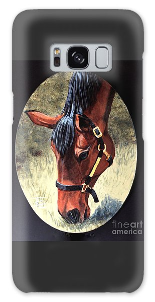 Thoroughbred Head Galaxy Case