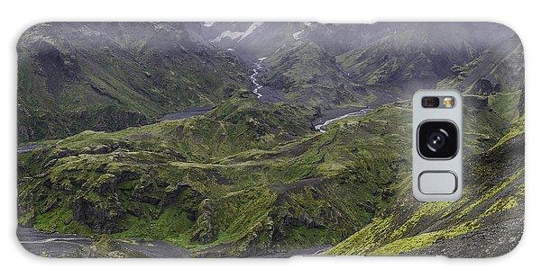 Thorsmork Toward Myrdalsjokull Galaxy Case