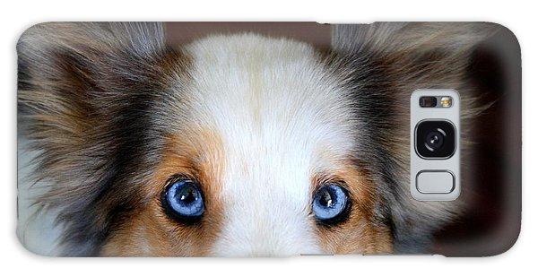 Those Eyes Galaxy Case by Kathryn Meyer