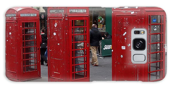 Those Red Telephone Booths Galaxy Case