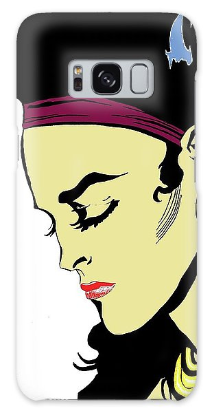 Thoughtful Woman 2 Galaxy Case