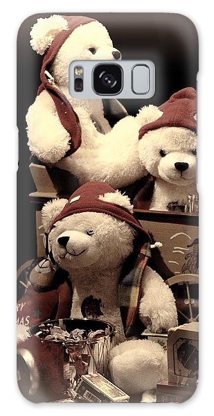 Three Bears Creative Galaxy Case by Linda Phelps