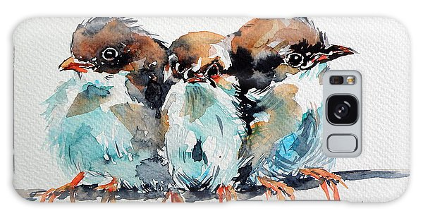 Three Birds Galaxy Case