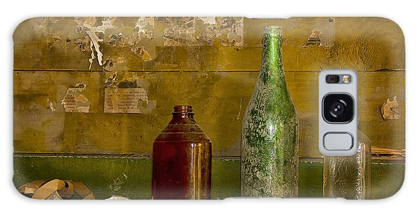 Three Bottles On A Mantel Galaxy Case