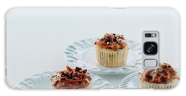Three Cranberry Cupcakes Galaxy Case